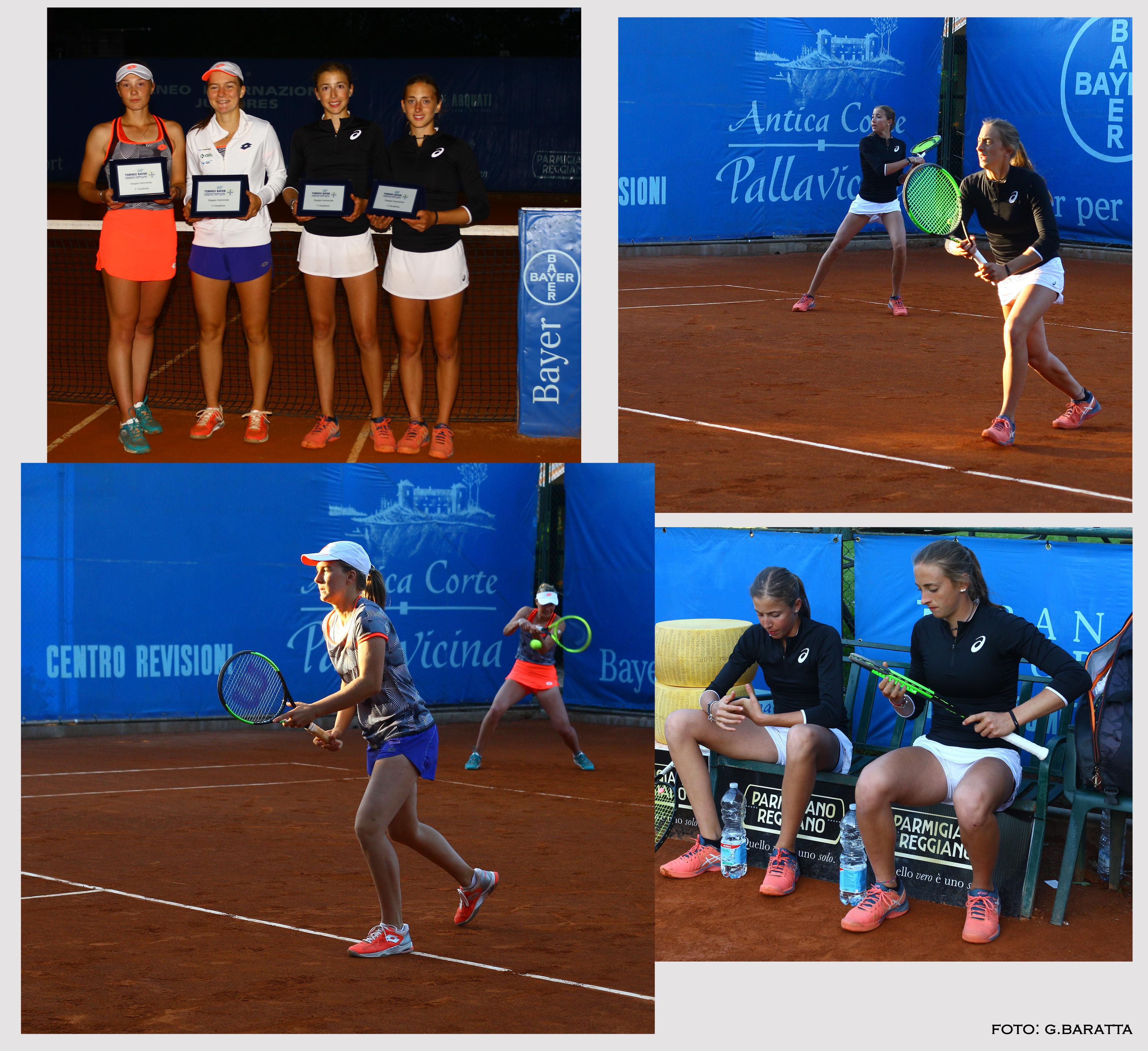 scatti finale doppio femminile